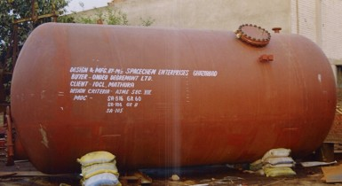 4. Pressure Vessel IOCL, Mathura