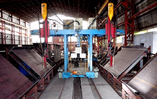 Double Cantilever Submerged Arc Welding Machine