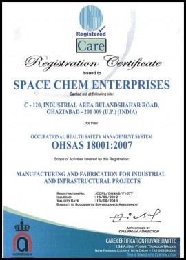 OHSAS 18001 for Occupational Health Safety Management System