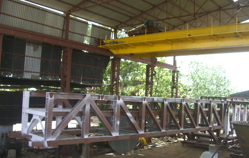 Steel Structural Industrial And Steel Bridge Fabrication